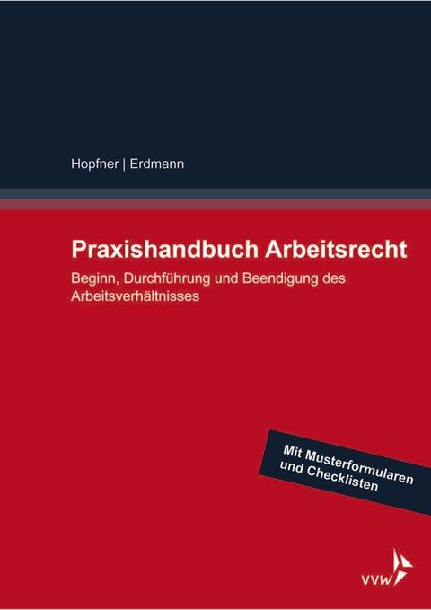 Ebook Praxishandbuch Arbeitsrecht Von Sebastian Hopfner Isbn 978