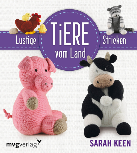 Lustige Tiere Vom Lande Stricken Von Sarah Keen Isbn 978 3 86882