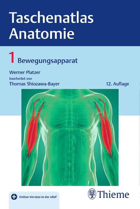 Taschenatlas Anatomie, Band 1: Bewegungsapparat von Werner Platzer ...